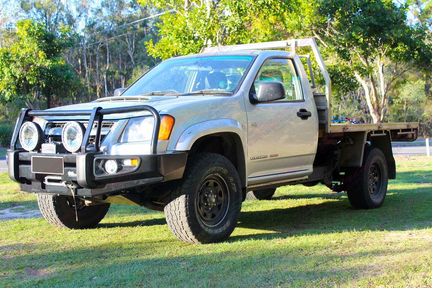 Holden Colorado Rc Single Cab Silver 56863 Superior