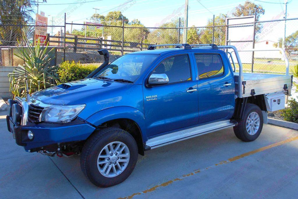 Toyota Hilux Dual Cab Blue 37631 Superior Customer Vehicles