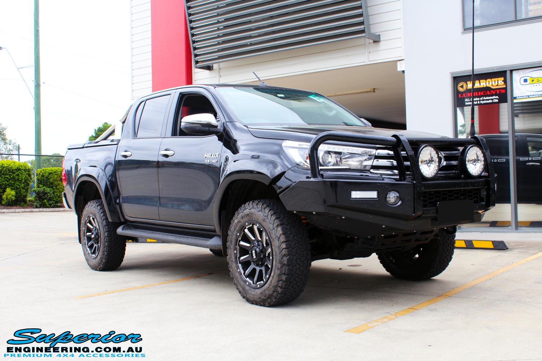 Toyota Hilux Revo Black 80370 Superior Customer Vehicles