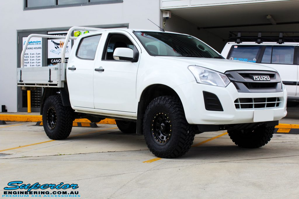 Colorado Springs Toyota >> Isuzu D-Max Dual Cab Ute White | Superior Customer Vehicles