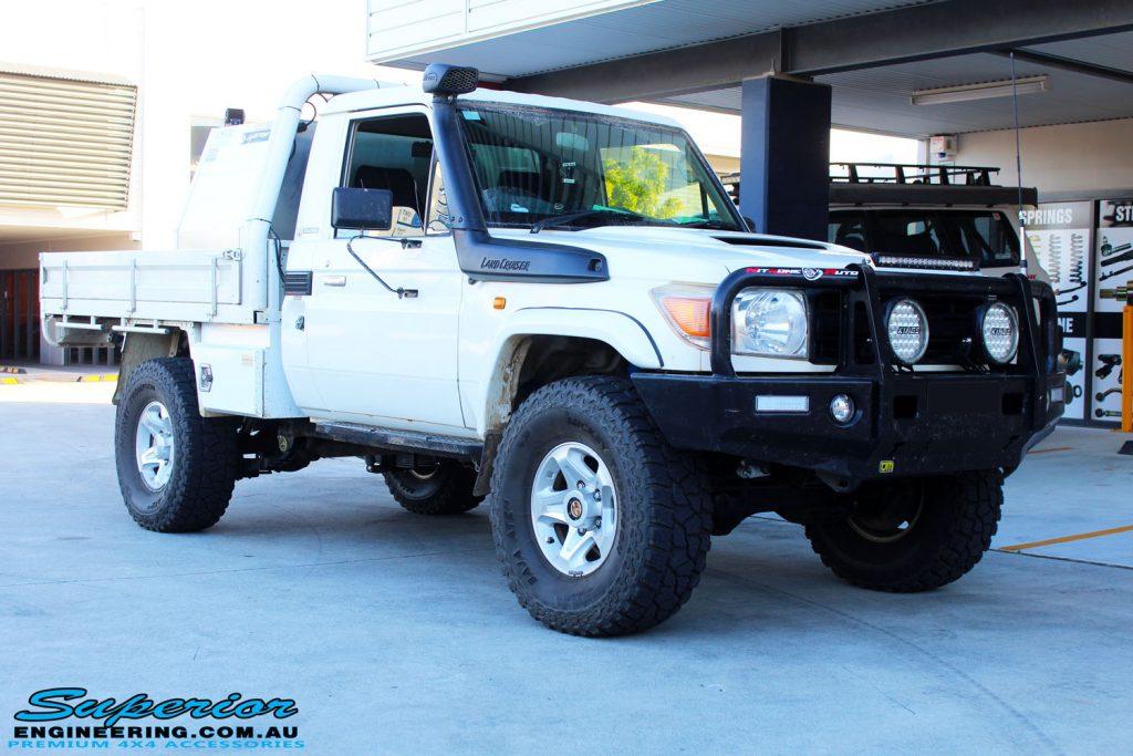 Colorado Springs Toyota >> Toyota 79 Series Landcruiser White Single Cab #85834 | Superior Customer Vehicles