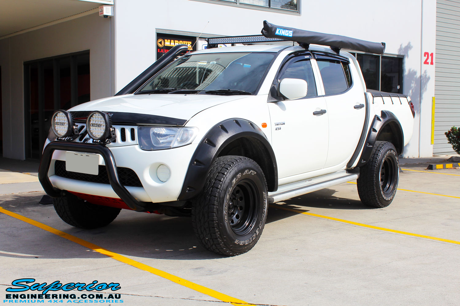 Colorado Springs Toyota >> Mitsubishi ML Triton Dual Cab White #91448 | Superior ...