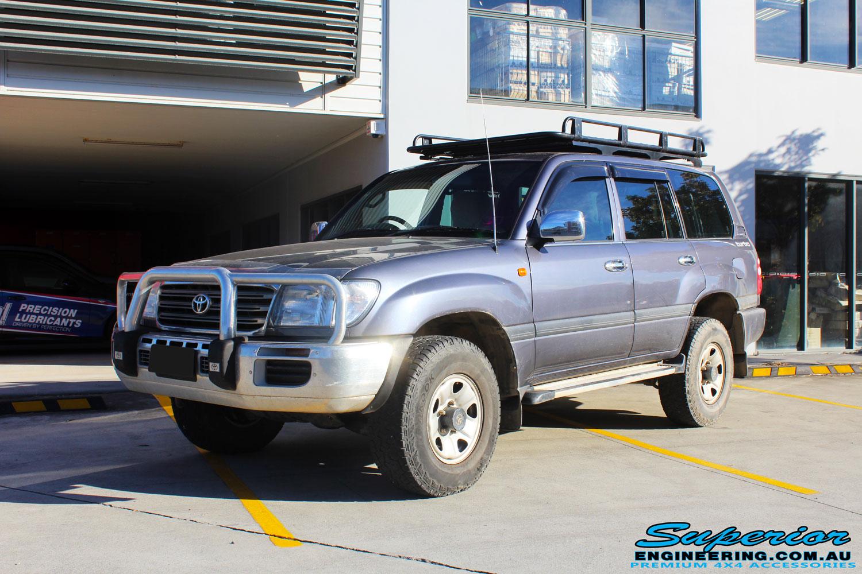 Toyota 100 Series Landcruiser Wagon Grey #92246 | Superior Customer