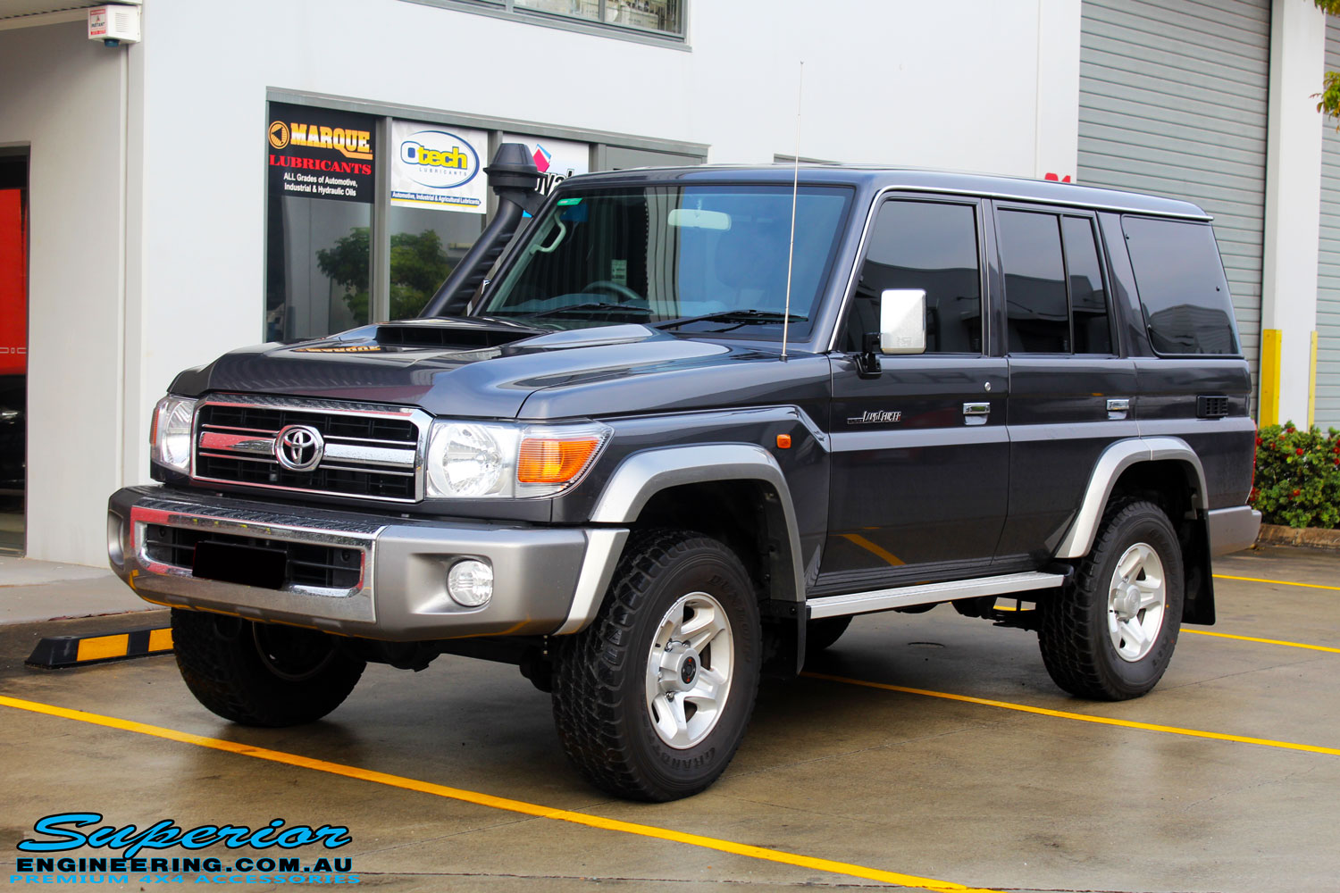 Toyota 76 Series Landcruiser Wagon Grey 91080 Superior