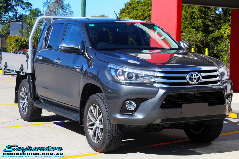 Toyota Revo Hilux Grey Dual Cab #90540