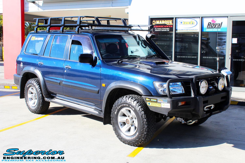 4 Inch Suspension Lift Kit >> Nissan GU Patrol Blue Wagon #99693 | Superior Customer