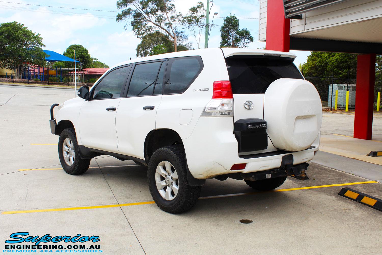 Toyota 150 Series Prado Wagon White #112099 | Superior