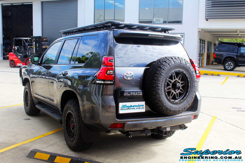 Toyota 150 Series Prado Wagon Grey #120150 | Superior